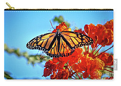 Carry-all Pouch featuring the photograph Painted Lady by Robert Bales