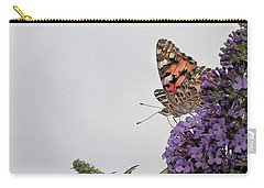 Painted Lady (vanessa Cardui) Carry-all Pouch by John Edwards
