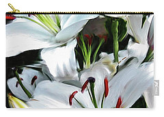 Painted Lilies Carry-all Pouch