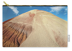Carry-all Pouch featuring the photograph Painted Mound by Greg Nyquist