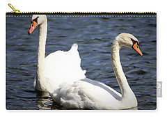 Painted Mute Swans Of Lake Junaluska North Carolina II Carry-all Pouch