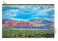 Carry-all Pouch featuring the photograph Painted New Mexico by AJ Schibig
