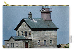 Painted Northwest Block Island Lighthouse Carry-all Pouch