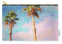Painted Palms Carry-all Pouch