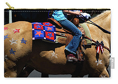 Carry-all Pouch featuring the photograph Painted Pony by Lorraine Devon Wilke