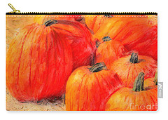 Painted Pumpkins Carry-all Pouch