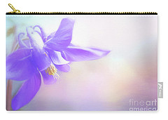 Painted Purple Columbine Carry-all Pouch