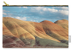 Carry-all Pouch featuring the photograph Painted Ridge And Sky by Greg Nyquist