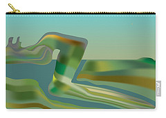 Painted Riverland Carry-all Pouch