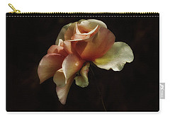 Carry-all Pouch featuring the photograph Painted Roses by Elaine Malott