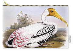 Painted Stork Carry-all Pouch by John Gould