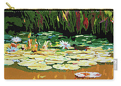 Painted Sunspots Carry-all Pouch by John Lautermilch