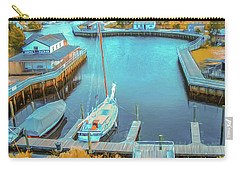 Painterly Tuckerton Seaport Carry-all Pouch