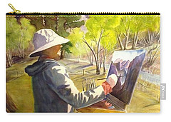 Painters Paradise Carry-all Pouch by Marilyn Jacobson
