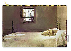 Painting Of The Print, Master Bedroom Carry-all Pouch