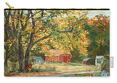 Painting The Fall Colors Carry-all Pouch