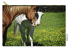 Paints And Buttercups Carry-all Pouch