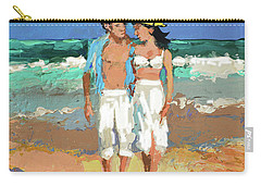 Pair By The Sea Carry-all Pouch