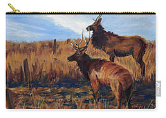 Pair O' Bulls Carry-all Pouch