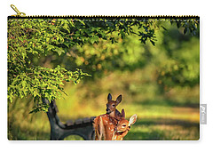 Pair Of Baby Deer Carry-all Pouch