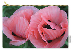 Pair Of Pink Poppies Carry-all Pouch