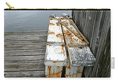 Carry-all Pouch featuring the photograph Paired Up by Anna Ruzsan