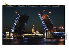 Palace Bridge At Night Carry-all Pouch