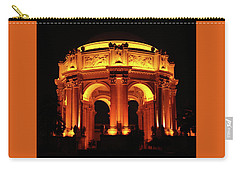 Palace Of Fine Arts - Dome At Night Carry-all Pouch