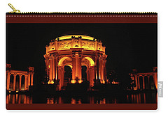 Palace Of Fine Arts - Night Profile Carry-all Pouch