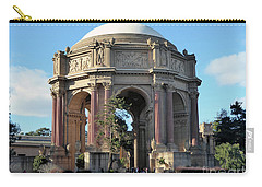 Carry-all Pouch featuring the photograph Palace Of Fine Arts by Steven Spak