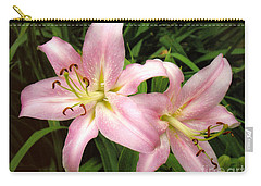 Pale Pink Beauties Carry-all Pouch