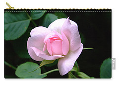 Pale Pink Rose Carry-all Pouch