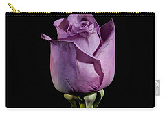 Pale Purple Rose Carry-all Pouch