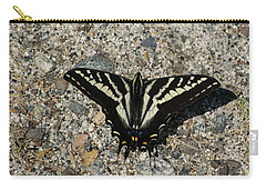 Pale Swallowtail Butterfly Carry-all Pouch by Frank Wilson