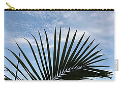 Palm And Clouds  Carry-all Pouch by Don Koester