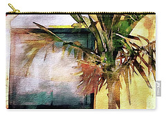 Palm And Window Carry-all Pouch