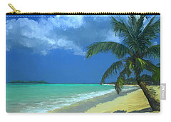 Palm Beach In The Keys Carry-all Pouch
