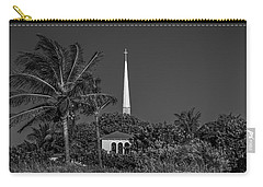 Palm Church Steeple Delray Beach Florida Carry-all Pouch