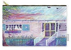 Palm Cottage Carry-all Pouch