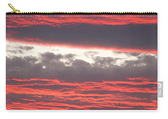 Carry-all Pouch featuring the photograph Palm Desert Sunset by Phyllis Kaltenbach