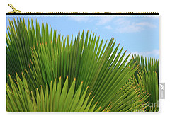 Palm Fans Carry-all Pouch by The Art of Alice Terrill