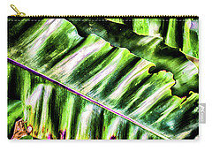 Palm Fronds Up Close Carry-all Pouch