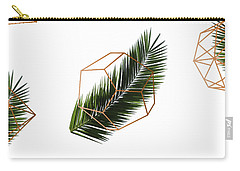Palm Geometry Carry-all Pouch by Uma Gokhale