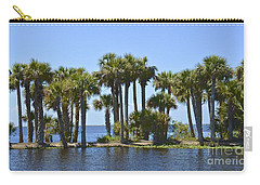 Carry-all Pouch featuring the photograph Palm Island by Carol  Bradley
