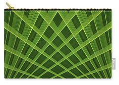 Carry-all Pouch featuring the photograph Palm Leaf Composite by Dutch Bieber