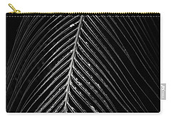 Carry-all Pouch featuring the photograph Palm Leaf by Deborah Benoit