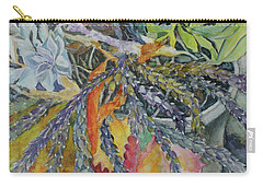 Carry-all Pouch featuring the painting Palm Springs Cacti Garden by Joanne Smoley