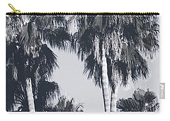 Palm Springs Palm Trees- Art By Linda Woods Carry-all Pouch