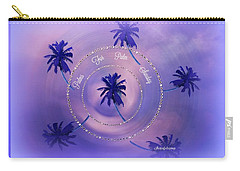 Carry-all Pouch featuring the digital art Palm Sunday by Sherri Of Palm Springs