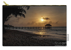 Palm Sunrise Carry-all Pouch by Dennis Hedberg
